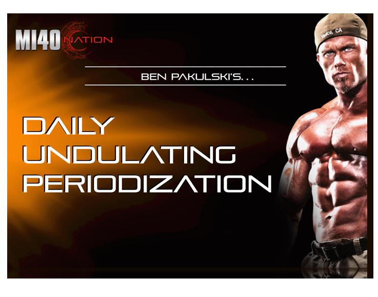 Daily Undulating Periodization 3D