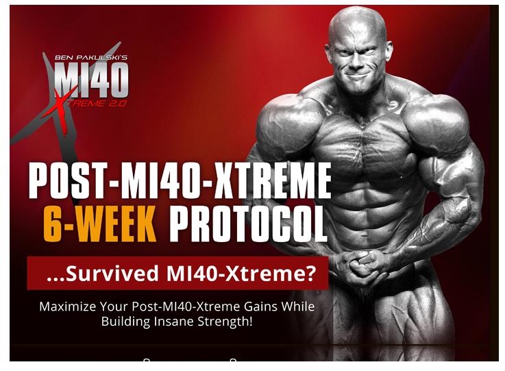 Post MI40 Xtreme Protocol - 3D Cover